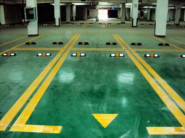 停车场停车位划线